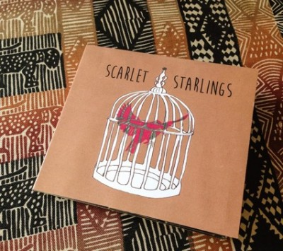 Scarlet Starlings debut CD front