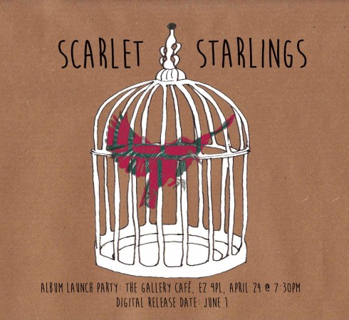 Scarlet Starlings debut album out June 1st 2014
